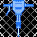 Jackhammer Hammer Tool Icon