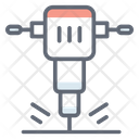 Demolition Hammer Electric Hammer Jackhammer Icon