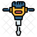 Jackhammer Breaker Demolition Icon