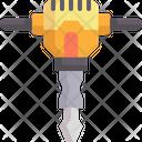 Jackhammer Construction Tool Drill Icon