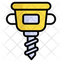 Jackhammer Construction Drill Icon