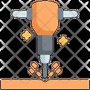 Jackhammer Construction Tools Icon