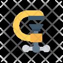 Construction Tool Jackhammer Icon