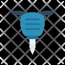 Jackhammer Drill Machine Icon