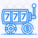 Video Game Slot Machine Gambling Icon