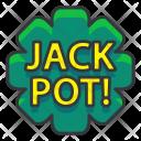 Jackpot Gambling Icon