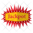 Jackpot Progressive Jackpot Lottery Icon