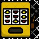 Jackpot Machine Play Luck Icon