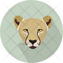 Jaguar Head Animal Icon