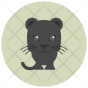 Jaguar Animal Character Icon
