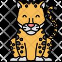 Jaguar Leopard Carnivore Icon