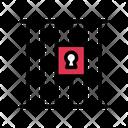 Jail Lockup Cage Icon