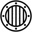 Criminal Jail Convict Icon