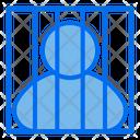 Jail Prisoner Criminal Icon