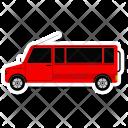 Car Green School Icon