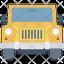 Jalopy Jeep Suv Icon