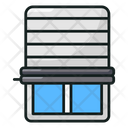 Jalousie Blinds Shutter Icon