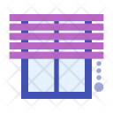 Jalousie Curtain Icon