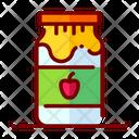 Jam Strawberry Jam Apple Jam Icon