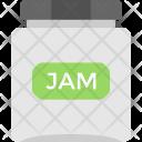 Glass Jar Jam Icon