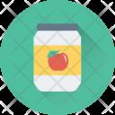 Jam Jar Food Icon