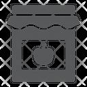 Jam Jar Container Icon