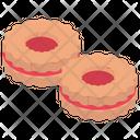 Jam Cookies Cookies Sandwich Cookies Icon
