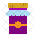 Jam Food Bottle Icon