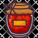 Breakfast Jam Strawberry Icon