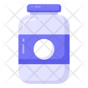 Glass Jar Jam Jar Food Jar Icon