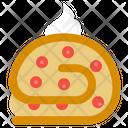 Jam Roll Dessert Icon