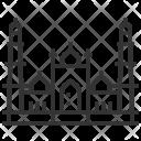 Jama Masjid Landmark Icon