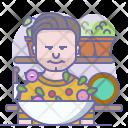 Chef Jamie Oliver Icon