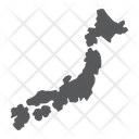 Japan Country Geograpgy Icon