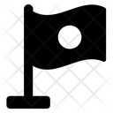 Japan Flag Banner Emblem Icon