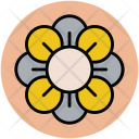 Japanese Flower Blooming Icon