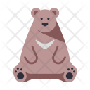 Japanese Bear Wild Icon