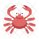 Japanese Crab Food Icon