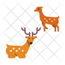 Japanese Deer Wild Icon