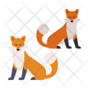 Japanese Fox Wild Icon