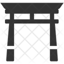 Japanese gate Icon