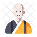 Japanese Monk Priest Icon