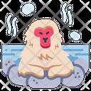 Japanese Monkey Icon