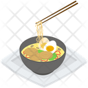 Japanese Noodles Bowl Icon