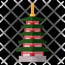 Japanese pagoda Icon