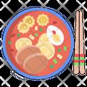 Japanese Ramen Soup Soup Soup Bowl Icon