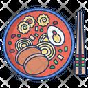 Japanese Ramen Soup Icon