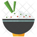 Japanese Rice Bowl Icon