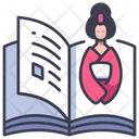 Japanese Traditional Book Icon