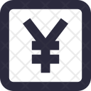 Currency Yen Japanese Icon